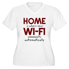 Home Wi-fi Connects T-Shirt