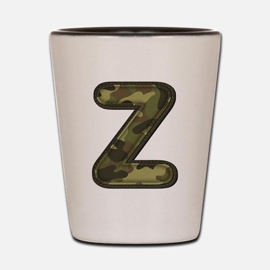 Z Army Shot Glass