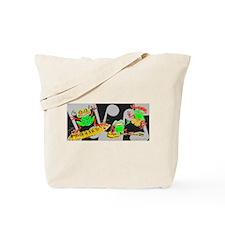 Rasta Frogs Tote Bag