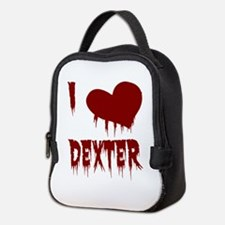 I Love Dexter Neoprene Lunch Bag