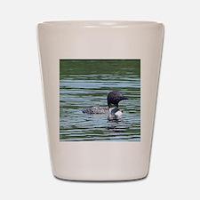Wet Loon Shot Glass