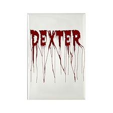 Dexter Blood Splatter Rectangle Magnet