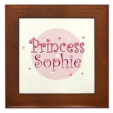 Sophie Framed Tile