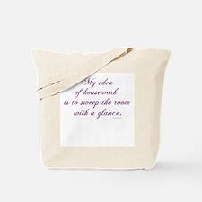 Housework... Tote Bag