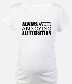 Annoying Alliteration Shirt