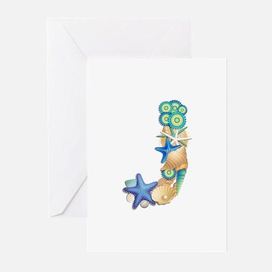 J Greeting Cards (Pk of 10)
