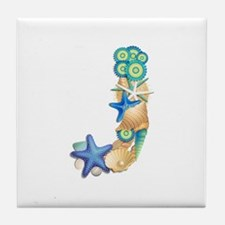 J Tile Coaster