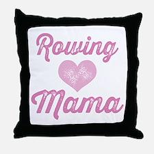 Rowing Mama Throw Pillow