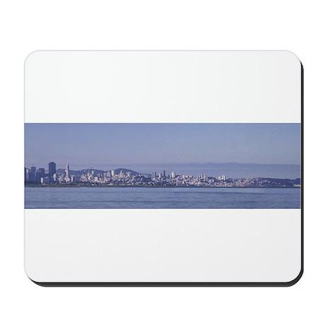 San Francisco across the bay Mousepad