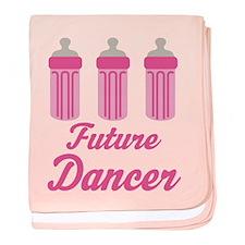 Future Dancer baby blanket