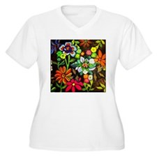 Everything's Blooming Plus Size T-Shirt