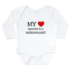 My Heart Belongs To A METEOROLOGIST Body Suit