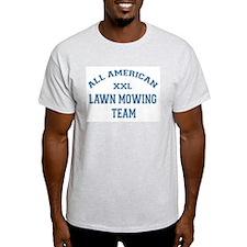 AA Lawn Mowing Team Ash Grey T-Shirt