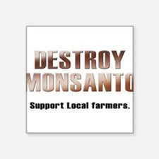 Destroy Monsanto Sticker