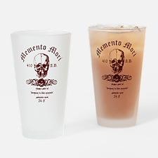 Memento Mori Drinking Glass
