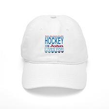 John Lives for Hockey Baseball Cap