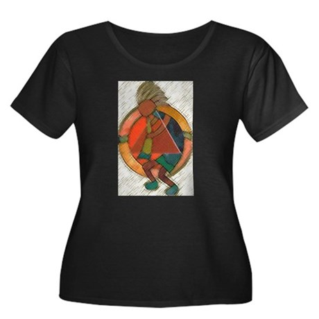 Kokopelli healing Plus Size T-Shirt