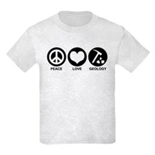 Peace Love Geology T-Shirt