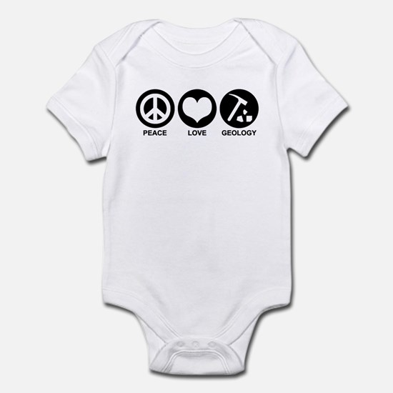 Peace Love Geology Infant Bodysuit