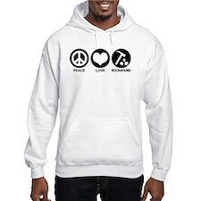 Peace Love Rockhound Hoodie