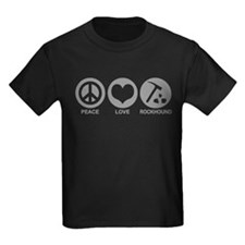 Peace Love Rockhound T