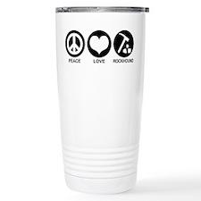 Peace Love Rockhound Travel Mug