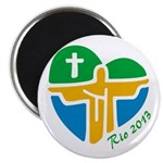 "World Youth Day 2.25"" Magnet (100 pack)"