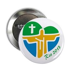 """World Youth Day 2.25"""" Button"""