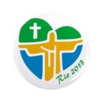 "World Youth Day 3.5"" Button (100 pack)"