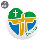 "World Youth Day 3.5"" Button (10 pack)"