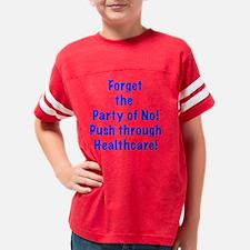 Push through Healthcare Youth Football Shirt