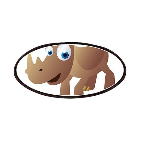 Cartoon Rhino Patches