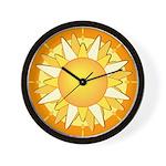 SUN SERIES: Sun shining brightly Wall Clock