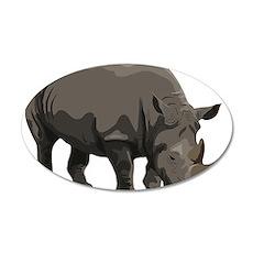 Classic Rhino Wall Decal