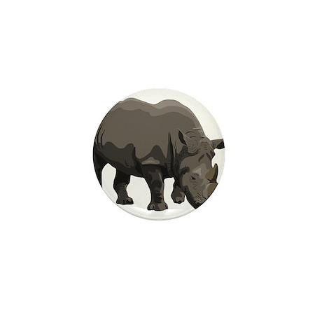Classic Rhino Mini Button (100 pack)