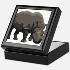 Classic Rhino Keepsake Box
