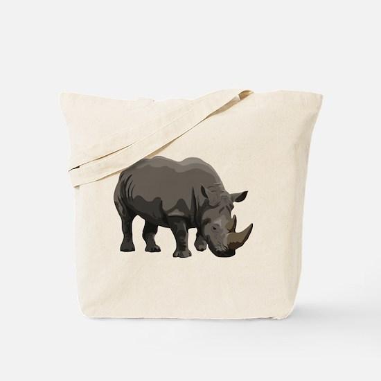 Classic Rhino Tote Bag