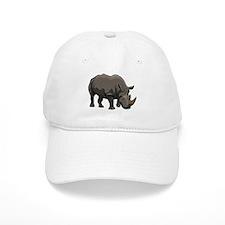 Classic Rhino Baseball Baseball Cap