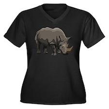 Classic Rhino Plus Size T-Shirt