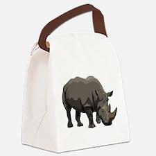 Classic Rhino Canvas Lunch Bag