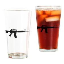 CAr-15 Assault Rifle. Drinking Glass