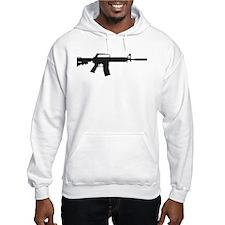 CAR-15 Assault Rifle. Hoodie