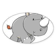 Baby Rhino Decal