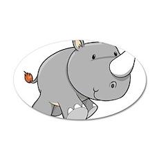 Baby Rhino Wall Decal