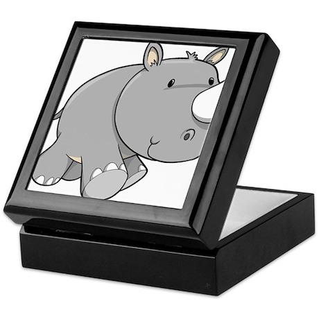Baby Rhino Keepsake Box