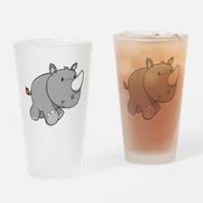 Baby Rhino Drinking Glass