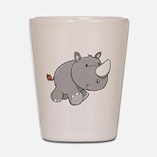 Baby Rhino Shot Glass