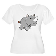Baby Rhino Plus Size T-Shirt