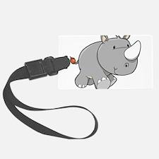 Baby Rhino Luggage Tag