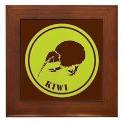 Kiwi Framed Tile